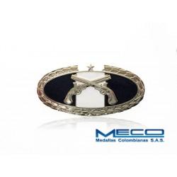 Distintivo PM Policia Militar 1 Estrella Ejercito Nacional