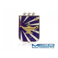 Distintivo IM Inteligencia Militar 3 Estrella Ejercito Nacional