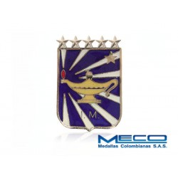 Distintivo IM Inteligencia Militar 5 Estrella Ejercito Nacional