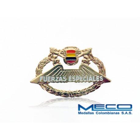 Distintivo Fuerzas Especiales Ejercito Nacional