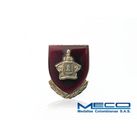 Distintivo Ingeniero Oficial Ejercito Nacional