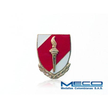 Distintivo EAS Oficial con Laurel Ejercito Nacional