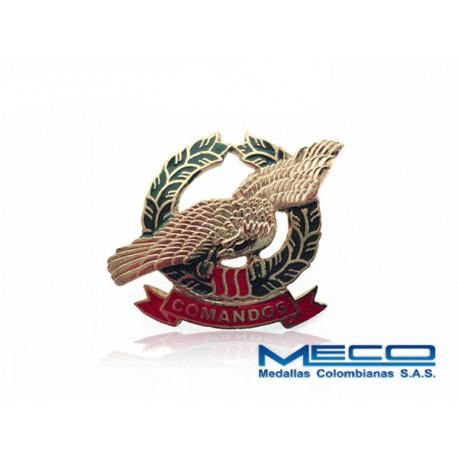 Distintivo Comandos Ejercito Nacional
