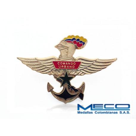 Distintivo Comando Urbano Ejercito Nacional