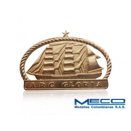 Distintivo Buque Gloria 1 Estrella Armada Nacional