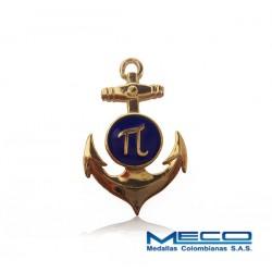 Distintivo Ingeniero Naval Armada Nacional