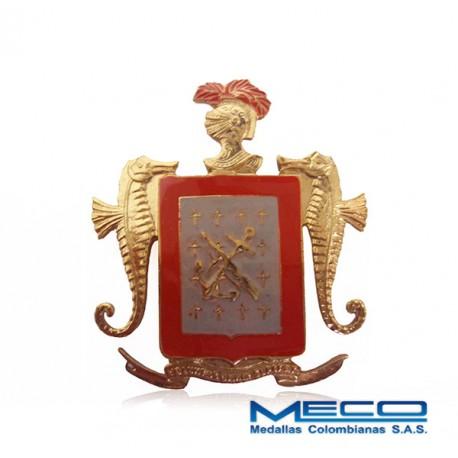 Escudo Boina Infanteria de Marina Armada Nacional