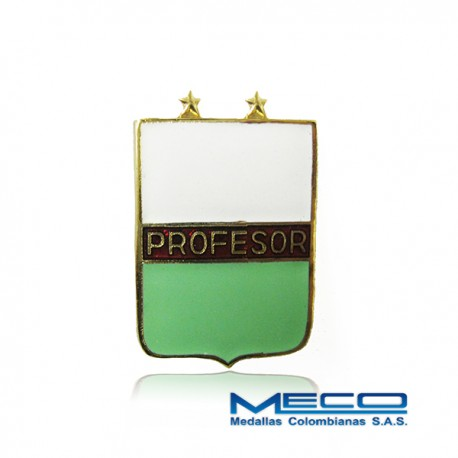 Distintivo Profesor Militar 2 Estrellas Policia Nacional
