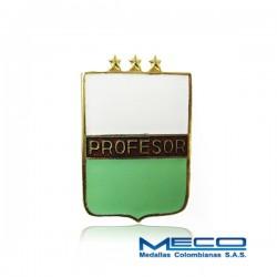 Distintivo Profesor Militar 3 Estrellas Policia Nacional