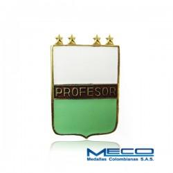 Distintivo Profesor Militar 4 Estrellas Policia Nacional