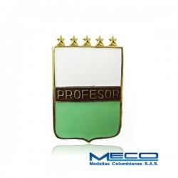 Distintivo Profesor Militar 5 Estrellas Policia Nacional