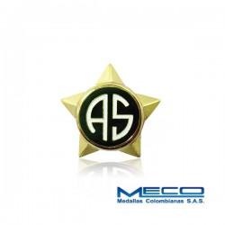 Distintivo Academia Superior Policia Nacional