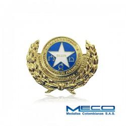 Distintivo de la Dirección de Investigación Criminal Policia Nacional