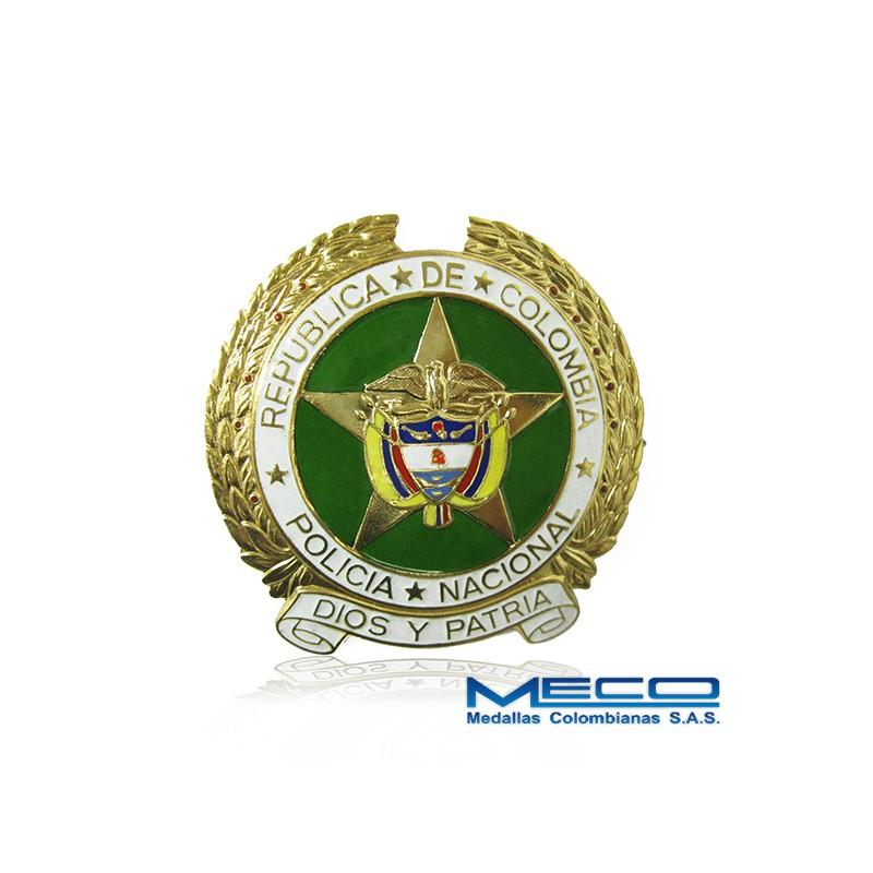 Escudo Grande Policia Nacional