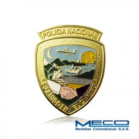 Distintivo de la Dirección de Tránsito y Transporte Policia Nacional