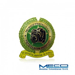 Distintivo Tecnico Profesional en FotografIa Judicial Policia Nacional