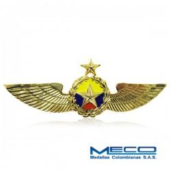 Alas Piloto 1 Estrella Policia Nacional