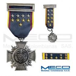 Medalla Orden Publico Decima Vez