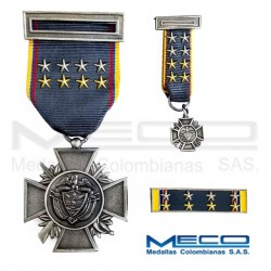Medalla Orden Publico Novena Vez