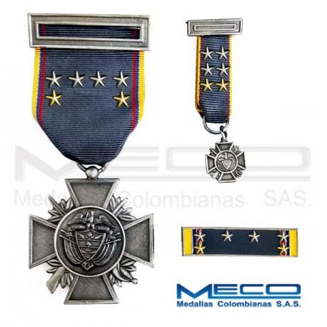 Medalla Orden Publico Septima Vez