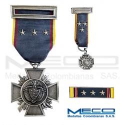 Medalla Orden Publico Quinta Vez
