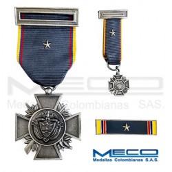 Medalla Orden Publico Segunda Vez