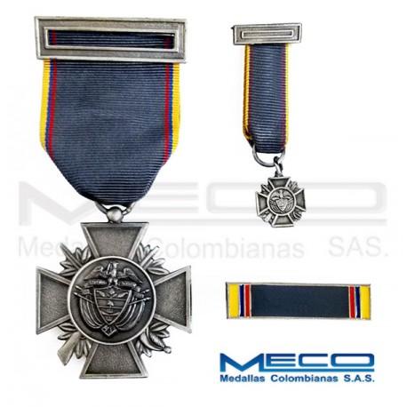 Medalla Orden Publico Primera Vez