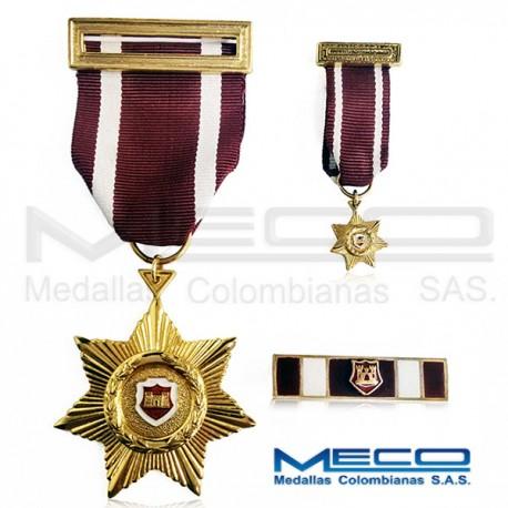 Medalla Torre de Castilla